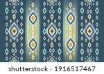 geometric ethnic oriental ikat... | Shutterstock .eps vector #1916517467