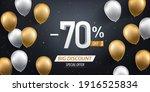 Seventy Percent Discount. Gold...
