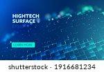 future technology. hightech...   Shutterstock .eps vector #1916681234