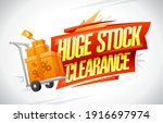 Huge Stock Clearance Banner...