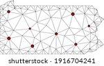 Polygonal Mesh Lockdown Map Of...