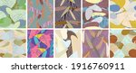abstract vector seamless... | Shutterstock .eps vector #1916760911