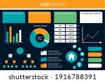 business company analysis stat... | Shutterstock .eps vector #1916788391