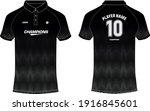 sport polo collar jersey design ... | Shutterstock .eps vector #1916845601