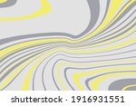simple design with curved wavy... | Shutterstock .eps vector #1916931551