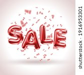 sale banner with 3d letters and ...   Shutterstock .eps vector #1916953301