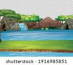 nature outdoor landscape...   Shutterstock .eps vector #1916985851