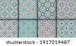 seamless textures with... | Shutterstock .eps vector #1917019487