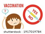 vaccines and immunization... | Shutterstock .eps vector #1917019784