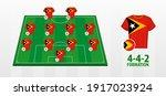 east timor national football... | Shutterstock .eps vector #1917023924
