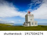 Lighthouse In Iceland On The...