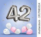 elegant greeting celebration... | Shutterstock .eps vector #1917081014