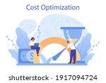 cost optimization concept. idea ... | Shutterstock .eps vector #1917094724