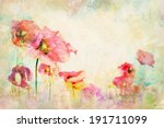 Watercolor Flowers   Wallpaper...