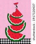 picnic vector illustration.... | Shutterstock .eps vector #1917120437