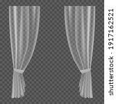 transparent curtains.... | Shutterstock .eps vector #1917162521