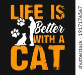 animal quote and saying   life...   Shutterstock .eps vector #1917176567