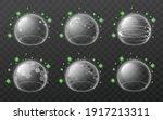 virus protection force field... | Shutterstock .eps vector #1917213311