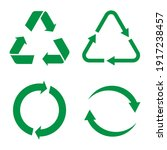 recycle vector icon. style is...   Shutterstock .eps vector #1917238457