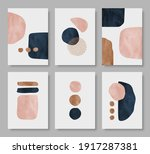 set of abstract aesthetic... | Shutterstock .eps vector #1917287381