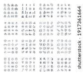 256 modern thin line icons.... | Shutterstock .eps vector #1917361664