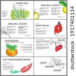web presentation template... | Shutterstock .eps vector #1917401114