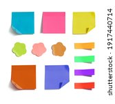 vector set of different colored ... | Shutterstock .eps vector #1917440714