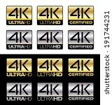 4k ultrahd | Shutterstock .eps vector #191744231