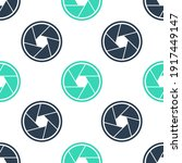 green camera shutter icon...   Shutterstock .eps vector #1917449147