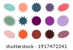 starburst colorful tag. star... | Shutterstock .eps vector #1917472241
