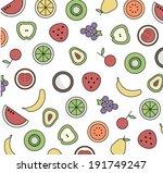 vector illustration fruit of...   Shutterstock .eps vector #191749247