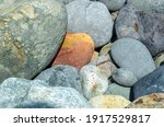 Boulders Of Yellow Orange And...
