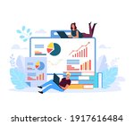 people chracter analysing... | Shutterstock .eps vector #1917616484