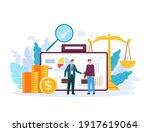 broker banker finance... | Shutterstock .eps vector #1917619064