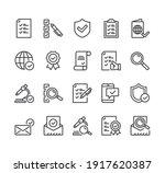 check testing examination tick... | Shutterstock .eps vector #1917620387