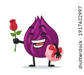 vector illustration of onion...