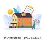 realtor agency purchasing house ...   Shutterstock .eps vector #1917623114