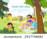 vector. outdoors leisure... | Shutterstock .eps vector #1917758081