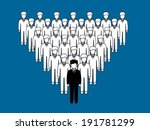 work force | Shutterstock .eps vector #191781299