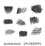 hand drawn pencil scribble... | Shutterstock .eps vector #1917850991