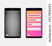 smartphone template social...