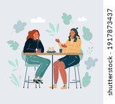 cartoon vector illustration of...   Shutterstock .eps vector #1917873437