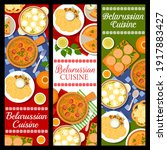 belarussian cuisine food ... | Shutterstock .eps vector #1917883427