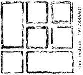 square vector frame border.... | Shutterstock .eps vector #1917886601