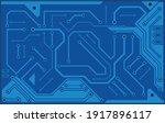 circuit board  technology ... | Shutterstock .eps vector #1917896117