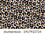 leopard print  cheetah seamless ... | Shutterstock .eps vector #1917922724