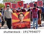 Nyaunghswe  Myanmar   16 Feb...