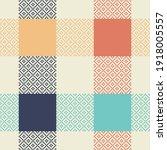 buffalo check plaid pattern... | Shutterstock .eps vector #1918005557