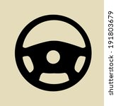 wheel icon | Shutterstock .eps vector #191803679
