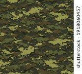 digital camouflage seamless... | Shutterstock .eps vector #1918060457